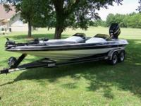 2007 Gambler with a 2010 Mercury 300 Pro XS. The boat