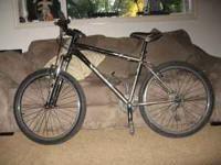 2006 Gary Fishermountain bike with hardtail frame. It