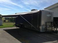 2007 Gator Enclosed Cargo Trailer Customized Toy Hauler
