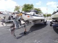 Powered With A 20HP Honda Outboard 4-Stroke Motor,