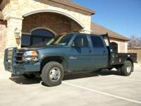 THIS IS A VERY NICE 2007 GMC 3500HD CREW CAB DUALLY