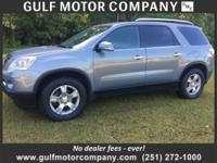 THIS GMC ACADIA SLT HAS A SET OF BRAND NEW TIRES ON IT
