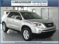 FWD, CD player, and Speed control. Nice SUV! Hurry and