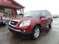 Options:  2007 Gmc Acadia Bose Audio! Rear Dvd Player!