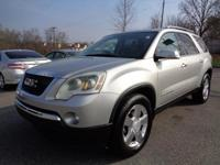 EPA 26 MPG Hwy/18 MPG City! SLT trim. 3rd Row Seat,