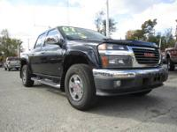 ONE OWNER VEHICLE! 2007 GMC Canyon SLE Crew Cab, 4x4