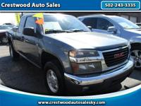 2007 GMC Canyon 2WD 4 door! Alloy wheels! 2.9l! Fog