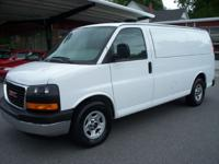Options Included: This is a 1 Owner Savanna Cargo Van