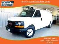 2007 White GMC G3500 Cargo Van For Sale in