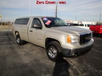 Options Included: AM/FM Stereo, Towing Package, Topper,
