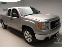 This 2007 GMC Sierra 1500 SLE Extended Cab 2WD is