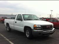 2007 GMC Sierra 1500 Regular Cab Pickup Work Truck Our