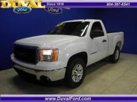 Nice Sierra 1500 with power options. Clean CarFax. Just