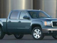 Boasts 19 Highway MPG and 15 City MPG! This GMC Sierra