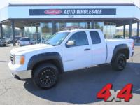 From home to the job site, this White 2007 GMC Sierra