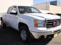 This 2007 GMC Sierra 1500 Extended Cab SLT Pickup 4D 6
