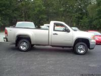 2007 GMC SIERRA 2500 HD *ONE OWNER* REG. CAB, 4X4, 8ft.