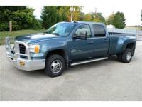 This 2007 GMC 3500HD 4X4 Crew Cab Dually with Allison