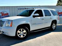 This 2007 GMC Yukon Denali looks great with a clean