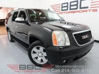 Yukon XL SLT. 5.3L V8. RWD. Power Sunroof. Leather