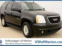 Our 2007 GMC Yukon SLE is sized right for large