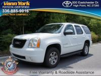 LOCAL TRADE FROM HIGH POINT! THIS 2007 GMC YUKON SLT is