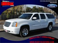 Our 2007 GMC Yukon XL is a maximum-size SUV for