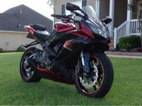 Great condition 2007 / 2008 Suzuki GSX-R 600. $ 4700.00