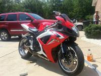 Up for sale is my sons 2007 Gsxr 600R Suzuki Motorcycle