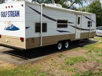 2007 gulf stream travel trailer 32ft long self