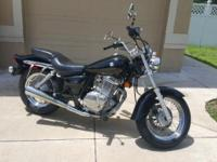 2007 GZ250 Excellent Condition. Extremely Low miles