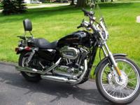 Description 2007 harley Davidson 1200 Custom Sportster.