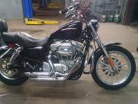 HD sportster 883 with 1200 kit. New tires. New brakes.