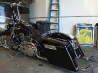 "2007 Harley Davidson deluxe. Kicker 4"" pods front crash"