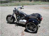 Trike Motorcycle, 96 cc, 4,829 mi.2007 Harley-Davidson