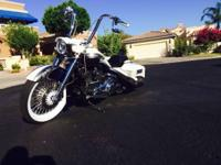 2007 Harley-Davidson FLHRC Road King Classic. Lots of