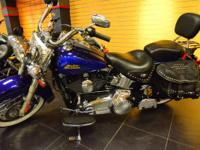 2007 Harley-Davidson FLSTC Beautiful Deep Blue Heritage
