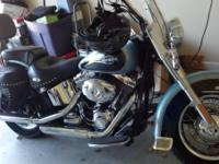 2007 Harley-Davidson FLSTC Heritage Softail Classic. A