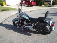 2007 Harley Davidson in Excellent Condition Blue Black