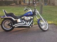 2007 Harley Davidson FLSTC Softail Custom. The bike