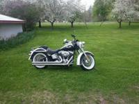 2007 Harley Davidson FLSTN Softatil Deluxe. Low mileage