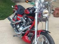 2007 Harley Davidson FXDSE Dyna CVO Screamin Eagle .