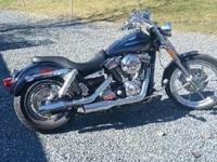 2007 Harley Davidson FXDSE Dyna Wide Glide- - Green and