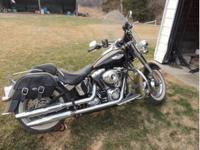 2007 Harley Davidson Heritage Deluxe. Bike has just