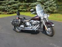 2007 Harley Davidson Heritage Softail Classic, Black