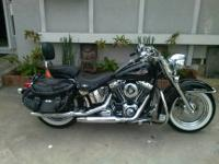 2007 Harley Davidson Heritage Softail with only 1100