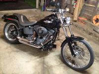 2007 Harley Davidson Softail Night Train, with 2,800