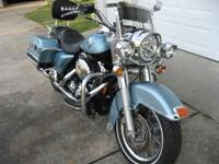 2007 Harley Road King... Blue Suede/Vivid Black...14076