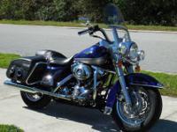 2007 Harley Davidson Road King Classic with 25k miles.
