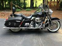 2007 Harley Davidson Road King Classic.  -The bike has